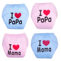 Baby Training Pants/Baby Diaper/Washable Diapers/Cotton Learning Pants/Same Style Bibs Trx0001