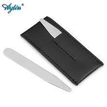 Ayliss Hot Stainless Steel Collar Stays for Men Dress Shirt Stiffeners