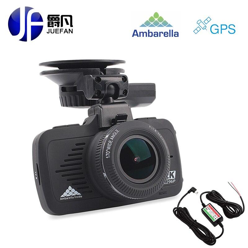 Новый русский Автомобильный видеорегистратор камера с GPS НОВАТЭК A7LA50 2.7 дюймовый экран полный высокой четкости 1080p 1296p автомобиля камера HD ночного видения тире камерой