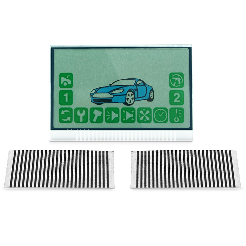 A94 Keychain Lcd Display Flexible Cable For Russian Starline A94 Remote Control Key Chain A94 Lcd Zebra Stripes