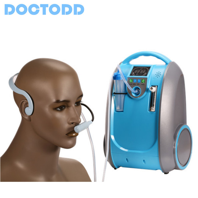 Cosmetic Li Battery Oxygen Concentrator Lithium Battery Oxygen Generator For Anti Aging Wrinkle Remval Enhance Skin Elasticity