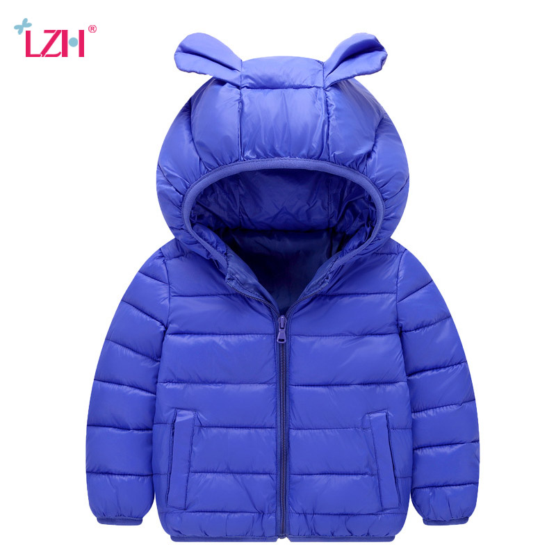 Baby Girls Jacket 2018 Autumn Winter Jackets For Boys Jacket Kids Hooded Outerwear Coats For Girls Windbreaker Children Clothes