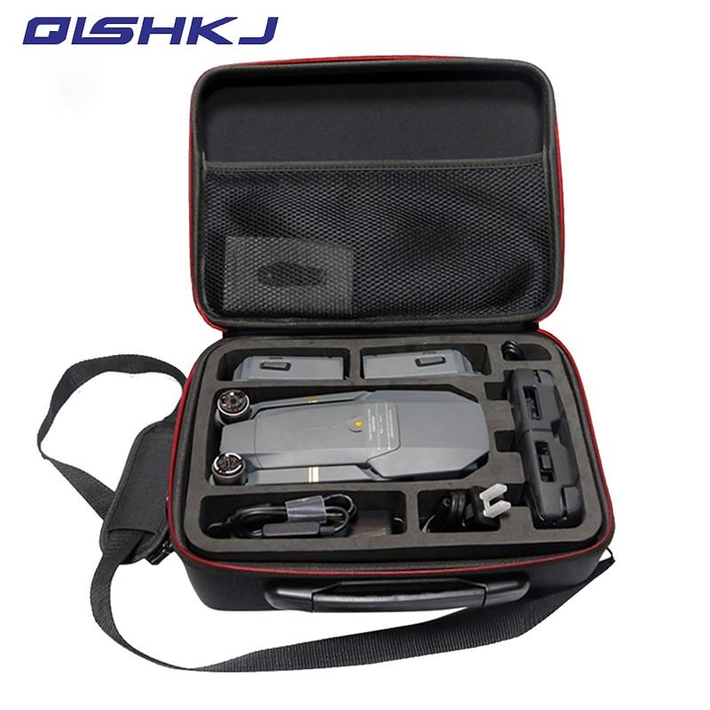 Drones Bag For DJI Mavic Pro EVA Hard Portable Bag Shoulder Carry Case Storage Bag Portable For DJI Mavic Pro /Platinum Case