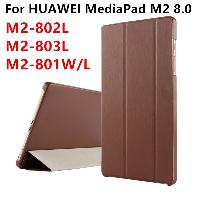 Case For Huawei MediaPad M2 8.0 PU Leather Smart cover Protective Tablet For HUAWEI M2-801W M2-803L M2-802L 801L Cases Protector for mediapad m2 ultra thin smart filp pu leather case cover for huawei mediapad m2 7 tablet case stand cover protective stand