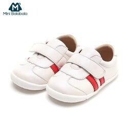 حذاء طفل صغير Balabala طفل أحذية من الجلد الحقيقي الرضع الفتيات الفتيان الأحذية الخطوة الأولى المشي لينة أسفل عدم الانزلاق