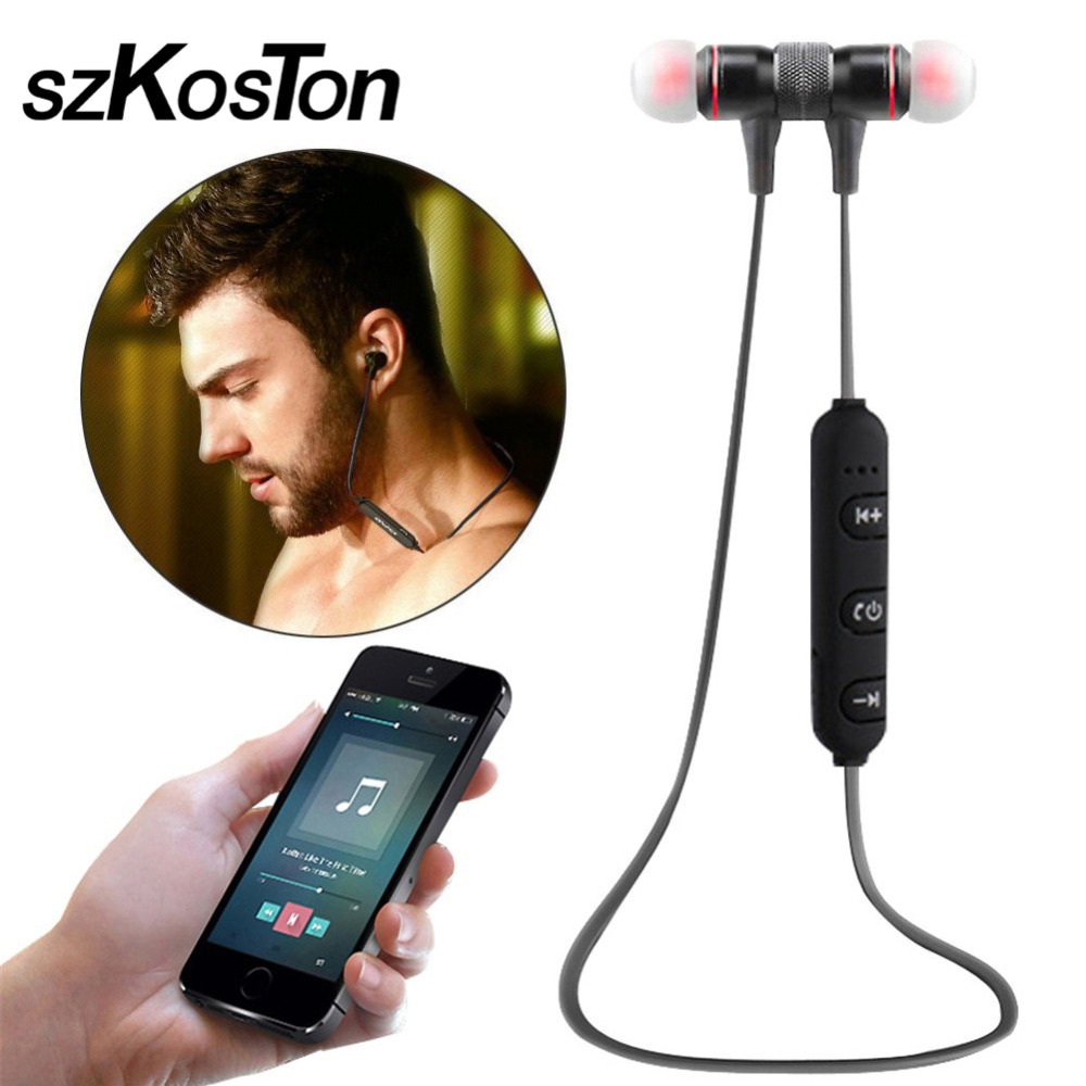 Smart Wireless Bluetooth 4.1 Sports Stereo Earphone Noise Reduction with Mic For iphone 7 samsung Xiaomi redmi4x meizu mx7 2016 noise reduction wireless bluetooth stereo headphones earphone headset with mic for iphone for ipad for tablet pc