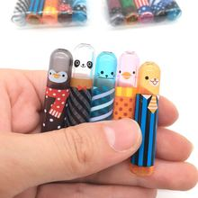 5Pcs/set Cute Animal Pencil Lengthen Extender Holder Portable for Office School Stationery