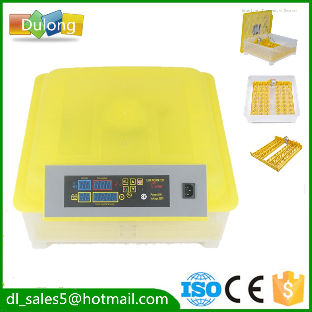 ФОТО Free ship to EU CE Approved newest automatic 48 chicken egg incubator  for hatching egg