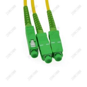 Image 2 - ZHWCOMM haute qualité 1M SC APC 1X8 fibre optique séparateur boîte SC/APC Fiber optique PLC séparateur