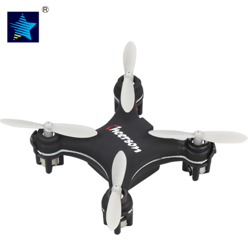 Mini Quadcopters CHEERSON CX-10SE CX10SE Mini Drone 6 Ejes RC con luces LED CX-10 Actualiza helicóptero RTF Dron Toy