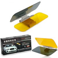 Yeshibation Car Sun Visor Goggles Day Night Anti Dazzle Mirror Vehicle Night Vision Goggles Widening Eye