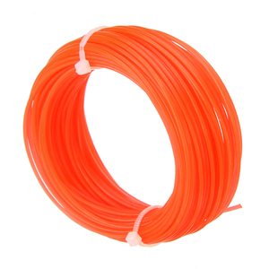 Image 4 - 1pc 15m x 1.25mm Nylon Trimmer Line Grass Cutter Rope Trimmer Roll Cord Wire String for Grass Strimmer Replacement