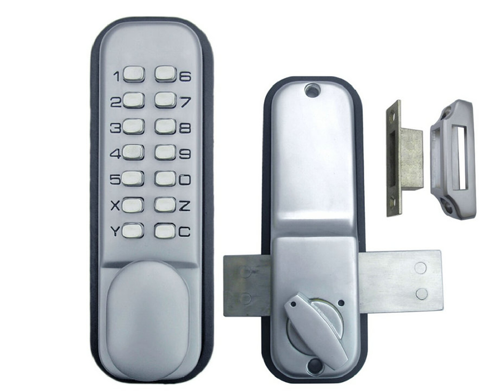 Online buy wholesale digital door lock from china digital door lock wholesalers - Sliding door combination lock ...