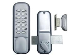 Libre-Envío mecánica cerraduras cerradura de la puerta código digital Todo el tiempo a prueba de Aleación de Zinc