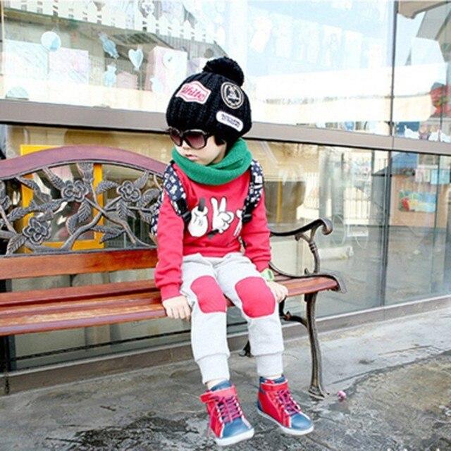 Autumn Baby Boys Girls Clothes Suit Finger Games Tracksuits 2 Pcs Children Outfit Clothing Sets