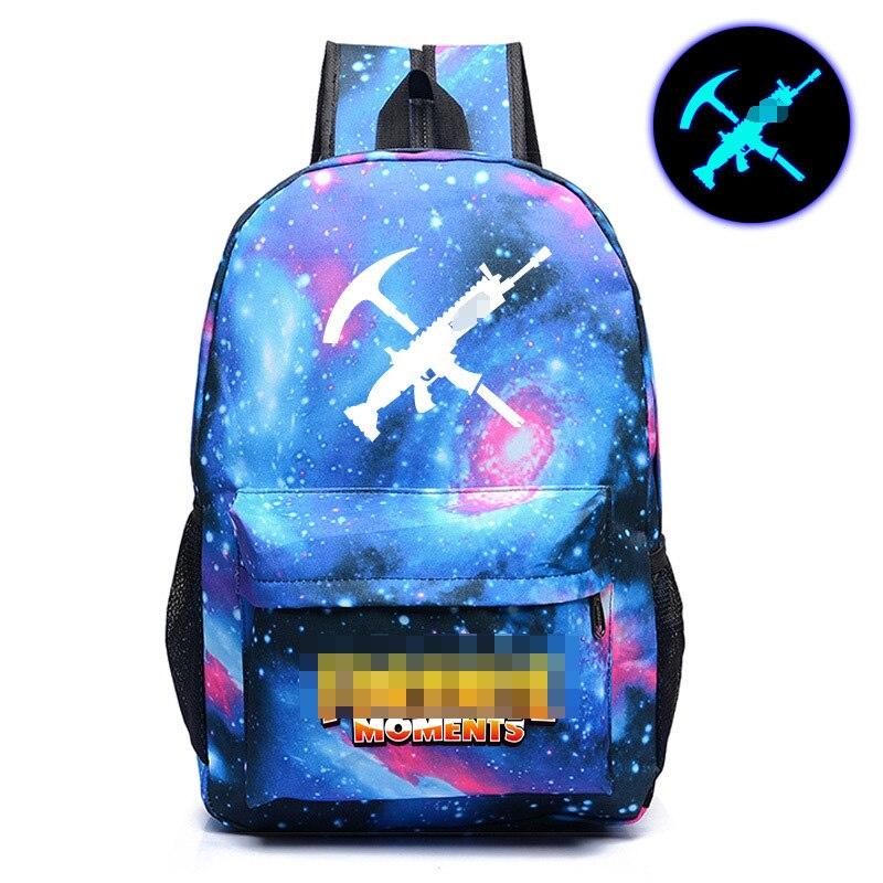 2018 días bolso de escuela embroma el regalo bolsa luminosa mochilas bolsas libro mochilas brillante en oscuro figura de acción juguetes para niños regalos