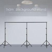 3 м x 7 м/10ftx23ft Pro фотографии фото фонов задний план поддержка системы подставки для фото видео студия + сумка
