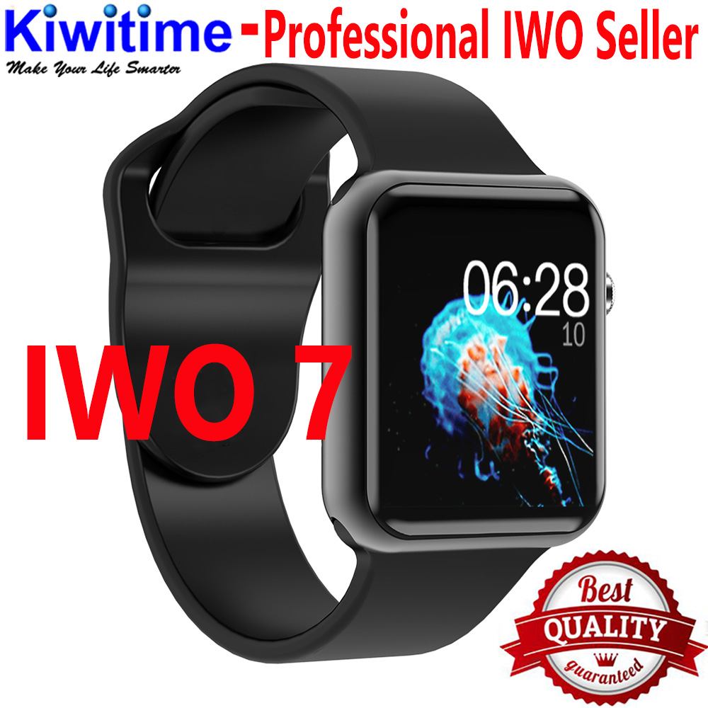IWO 7 Bluetooth Smart Watch SmartWatch case for apple iPhone Android Smart phone heart rate monitor
