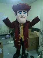 Ohlees капитан mascor костюмы для взрослых Размер распродажа Хэллоуин Карнавальный костюм платье Бесплатная доставка