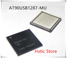 NEW 5PCS/LOT AT90USB1287-MU  AT90USB1287  90USB1287  QFN-64 IC