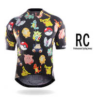 2018 Pro Cycling Jersey Mtb Bicycle Clothing Bike Wear Clothes Short Maillot Roupa Ropa De Ciclismo Hombre Verano #DX-38
