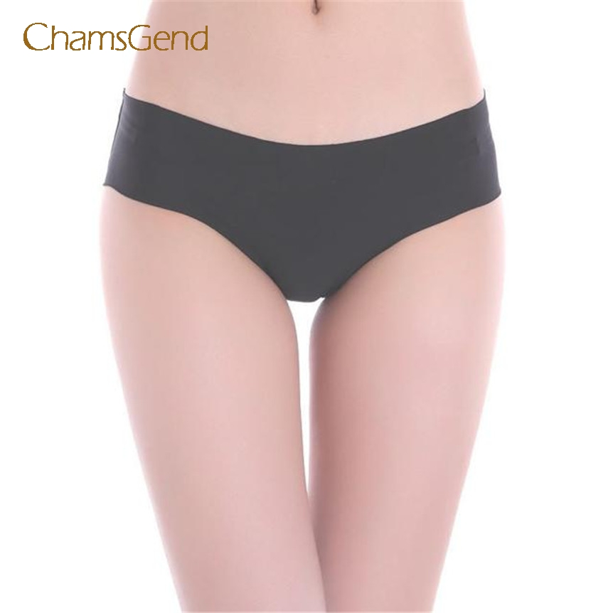 chamsgend sexy panties calcinha underwear women calcinha Invisible Underwear Thong Cotton tanga Gas Seamless Crotch dec12