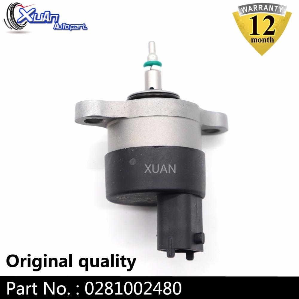 XUAN DRV vanne de contrôle de pression sur Rail commun   Pompe à carburant, vanne de dosage 0281002480 pour MG ZT zt-t Opel Vauxhall Omega B MSR100320
