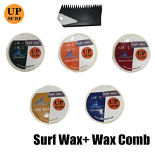 surf natural wax comb+base/warm/tropical/cool/cold Water Wax Surfboard for outdoor surfing sports new packaging