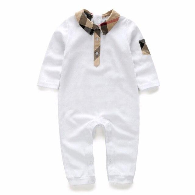 6c16643d3 La ropa del bebé 0 3 6 9 12 meses diseño de marca de algodón recién ...