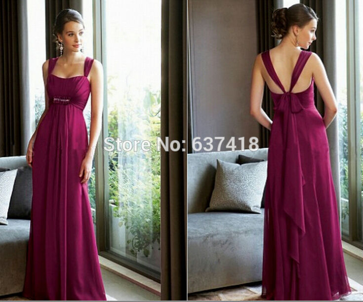 High Quality Burgundy Bridesmaid Dresses-Buy Cheap Burgundy ...