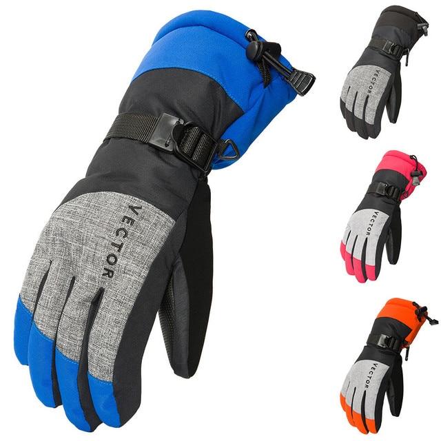 2018 High quality Winter Windproof Glove Warmer Screen Gel Anti-shock  Snow waterproof gloves
