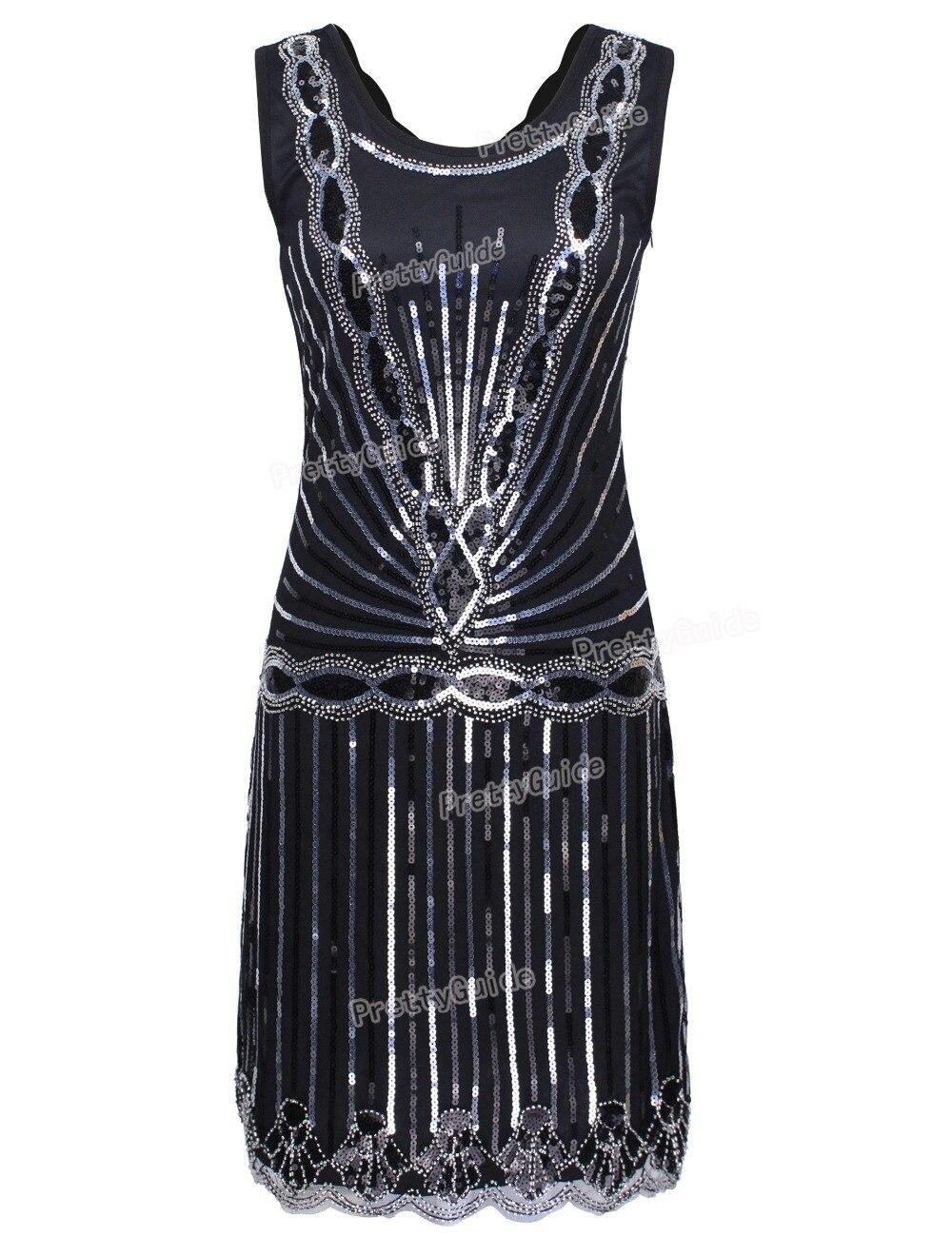 Aliexpress.com : Buy PrettyGuide Women 1920s Vintage Art Deco Sequin ...