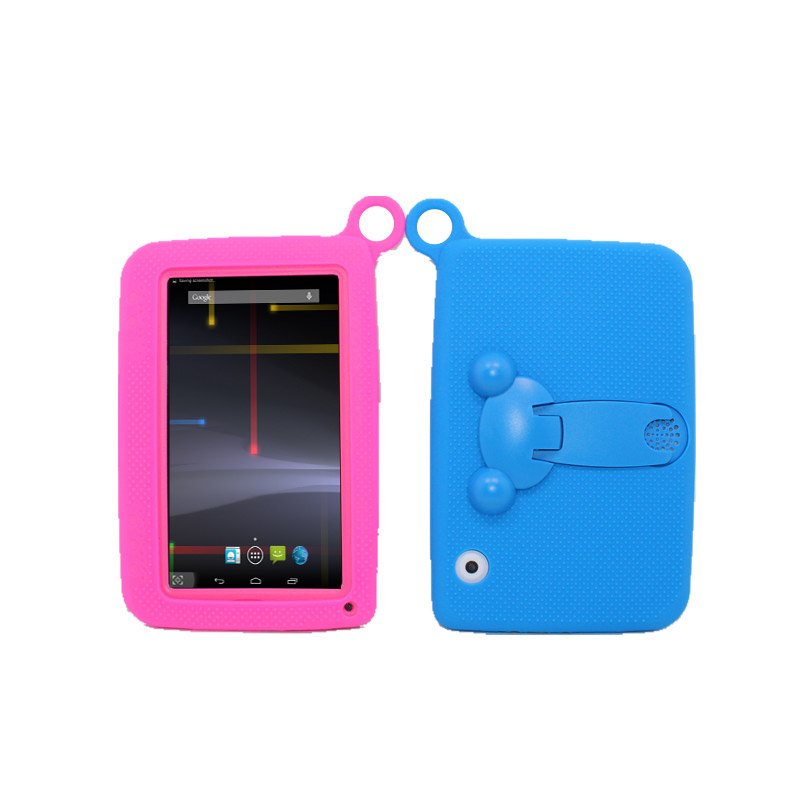 Glavey Kids tablet 7 inch Android 4.4 dual Core G sensor Wifi 1024*600 tablet pc512MB/8GB