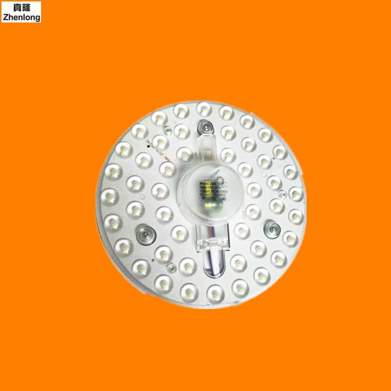 Panel Cahaya Putaran Papan Langit-langit Lampu Mengganti Sumber Cahaya Cahaya modul Lampu Manik-manik Patch 12 W 18 W 24 W AC110V 220 V Led Lampu
