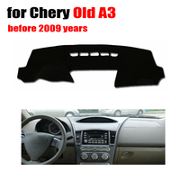 Car Dashboard Cover Mat For Chery Old A3 Before 2009 Left Hand Drive Dashmat Pad Desk