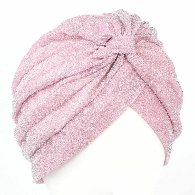 cedbca0f970 ... Bling Bling Knitting Knot Turban Hat Cap Women Autumn Winter Warm  Skullies   Beanies 2017 Casual