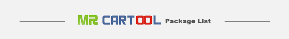 MR CARTOOL Package List
