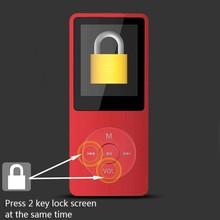 1.8 Pulgadas de Pantalla Puede Jugar 100 Horas 8 GB Con FM E-libro de Datos Del Reloj Reproductor de MP3 Venta Caliente