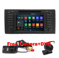 "Android 5.1 Quad Core 1024*600 GPS Навигации 7 ""Dvd-плеер Автомобиля для BMW E39 5 серии с Bluetooth/RDS/Canbus/SWC/Зеркало-link"