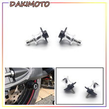 for Honda VFR1200 VFR 1200F 1200 2010 -2016 Motorcycle 8MM CNC aluminum Swingarm Wingarm Spools Slider Stand Screws