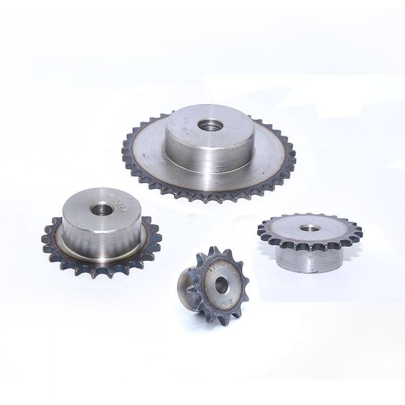 08B Transmission Chain Drive Sprocket Wheel With 20-29 Teeth Gear
