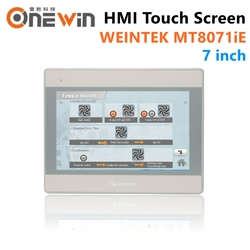 WEINVIEW/WEINTEK MT8071iE HMI Touch Screen 7 inch TFT LCD USB Ethernet new Human Machine Interface display replace MT8070iE