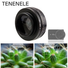 TENENELE For Xiao yi Lite 4K Action Camera Accessory 12.5X Close up Macro Lens Filters For Xiaomi Yi 4K+ Plus Camera Filter 37mm