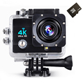 hot style WiFi 4K Action Camera Full HD 1080p 60fps 2.0 LCD 170 Degree Waterproof 30M Surveillance Video Camcorder Sport Camera