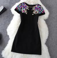 2016 New Summer Sequin Robe Dress Boho Sexy Vestidos Femininos 2016 Dresses Vestido