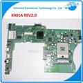 NEW! для Asus x401a X501A 60-MN0MB1202-A06 15.6 Дюймов REV 2.0 Ноутбук Материнских Плат ИСПЫТАНО 100% Гарантированность 45 дней