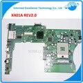 NOVO! para asus x401a x501a 60-mn0mb1202-a06 15.6 polegada rev 2.0 laptop motherboard testado 100% garantia 45 dias