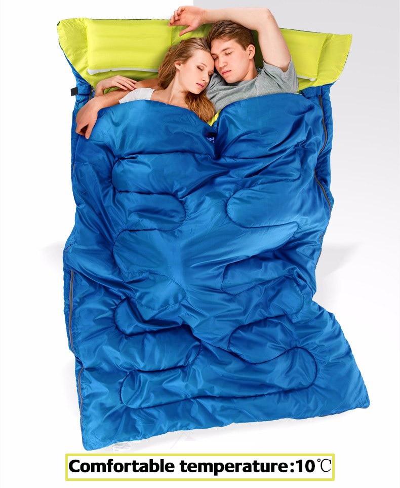 12 Cotton Double Sleeping Bag