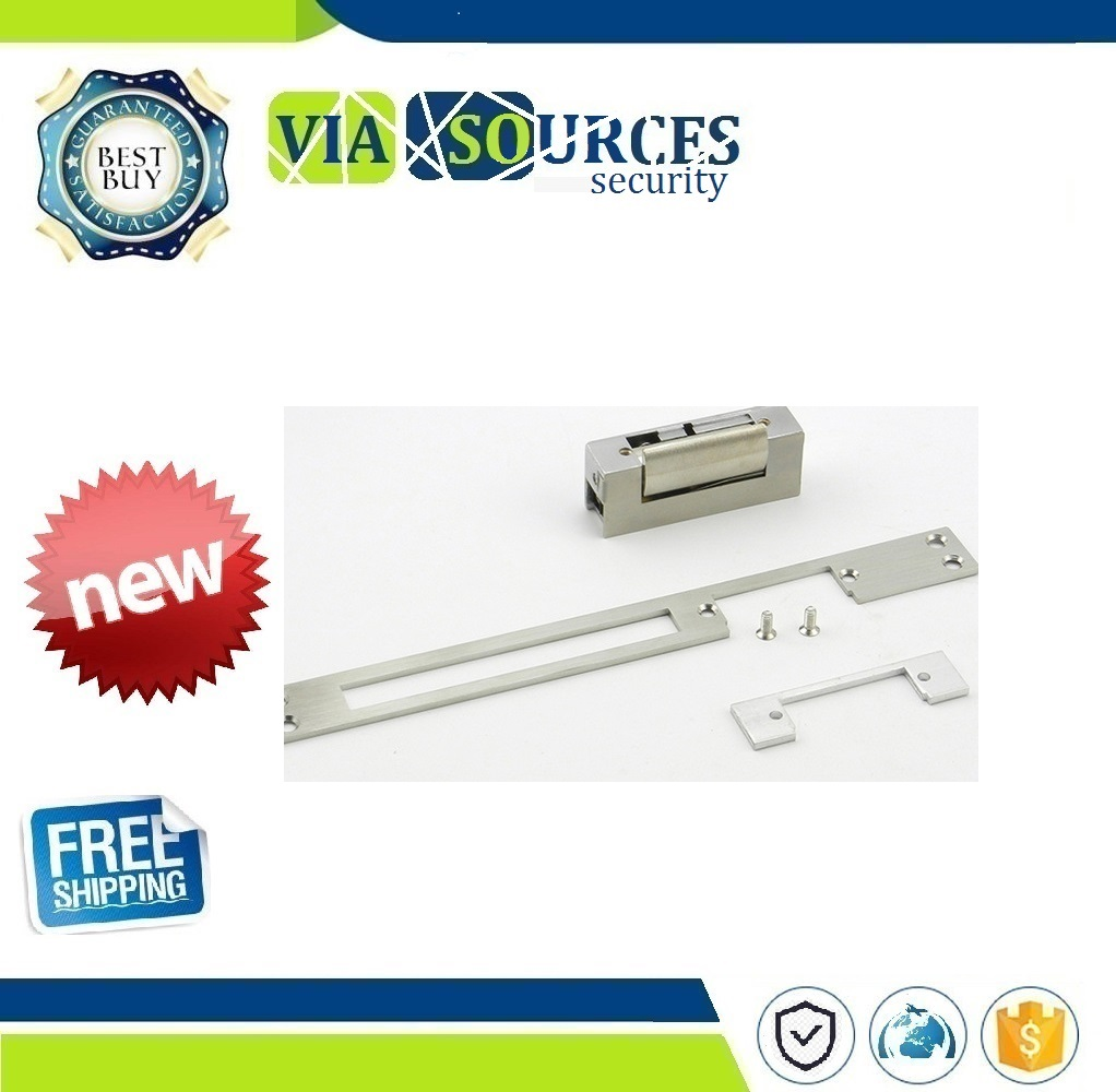 Narrow-Type Stainless Door Security Safely NC NO Door Electric Strike Lock For Access Control SystemNarrow-Type Stainless Door Security Safely NC NO Door Electric Strike Lock For Access Control System