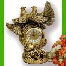 Pięć gwiazdek hotelu jest specjalnie zaprojektowany dla luksusowe i wysokiej jakości dekoracje domowe europejskie zegary prawdziwej zegary rzemiosło tanie tanio Zegary biurkowe Żywica Antique style GEOMETRIC Cyfrowy Europa Igła Chiming godzinowe Skoki ruch